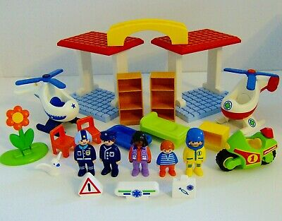 Playmobil 123 Hospital Playset With Figures & Accessories • 39.99£