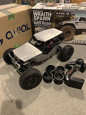 Axial Wraith Spawn 1/10 Rc Electric Crawler Off Road Rock Bouncer, RTR Upgraded • 349.99£