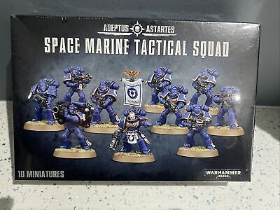 Warhammer Space Marine Tactical Squad Brand New 48-07 In Stock • 24.99£