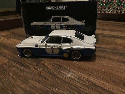 1/18 Ford Capri RS3100 Nurburgring DRM 1974  R.Stommelen 180748002 Mini Champs • 169.99£