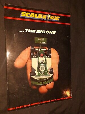 Scalextric Catalogue 1980 • 2.99£