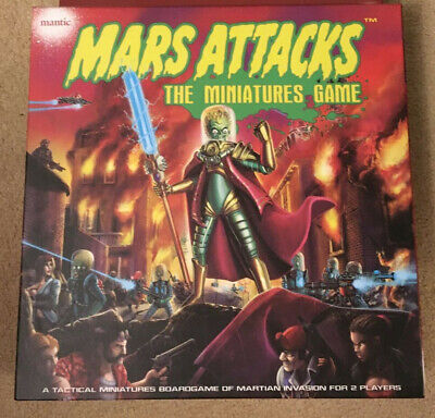 Mars Attacks Unpunched Miniatures Game • 44.95£