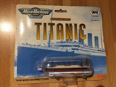 Micro Machines 74195 The Titanic Model In A Bottle Special Edition New On Card • 18.95£