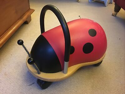 The Original Wheely Bug - Ladybird Ride-On Toy (Small, 1 Year+) • 10£