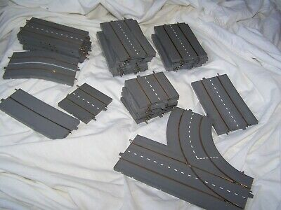 31 X Vintage Tri-ang Minic Motorway Various Grey Track For Renovation / Spares • 24.99£