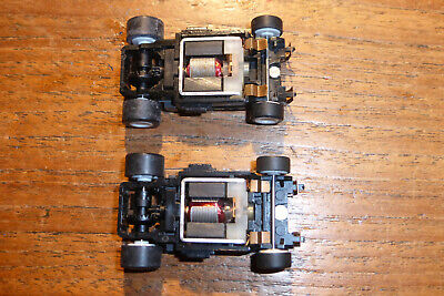 PAIR, 2, AFX Tomy Turbo WIDE Chassis, Ho Car Chassis, Aurora, Tyco Etc.  • 29.99£