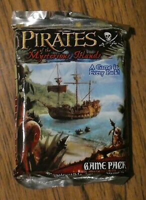 Pirates Mysterious Islands Sealed Wizkids CSG Booster • 10£