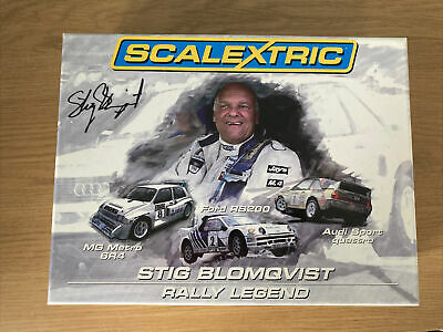 Scalextric, Stig Blomqvist, 3 Rally Cars, C3372A, Limited Edition 1778/3000 • 60£
