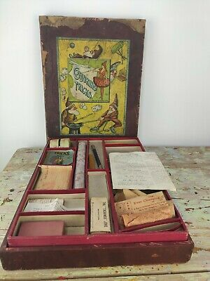 Antique Magic Set. Conjuring Tricks. British Manufacture • 80£
