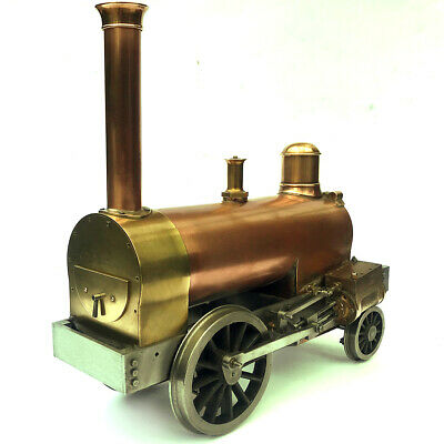 A Fine Part Built 3.5  Gauge Live Steam Locomotive Rainhill 3 1/2 Inch Loco Lbsc • 545£