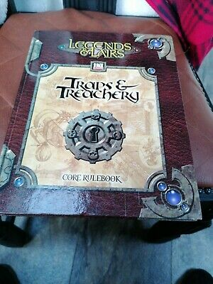 Legends And Lairs Traps And Treachery Book • 9.99£
