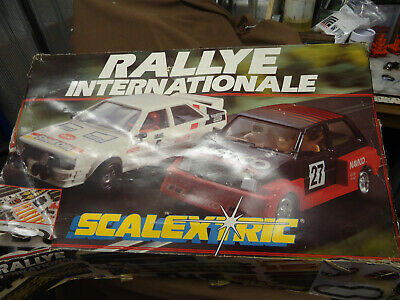 Scalextric, Track, Cars, Controllers, Job Lot About Complete Set, Cars Ok • 4.99£