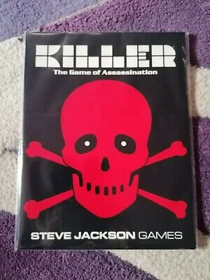 VF+ (1992) KILLER : Game Of Assassination (Role Playing Module) Steve Jackson.  • 13.99£