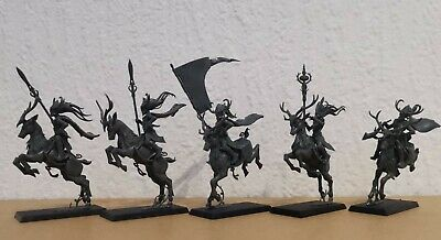Warhammer Age Of Sigmar 5 X Wood Elf Sylvaneth Sisters Of The Thorn • 20£