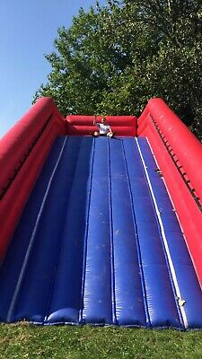Bouncy Castle Inflatable Zorb Ramp • 300£