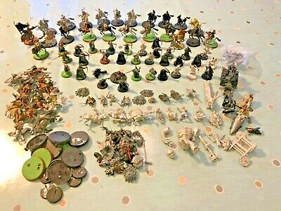 Bundle Of Games Workshop WARHAMMER Pieces Lord Of The Rings Riders Of Rohan Etc • 19.88£