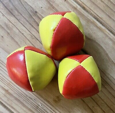 Juggling Balls - Ideal For Both Those New To Juggling And For Pros. Colourful. • 3£