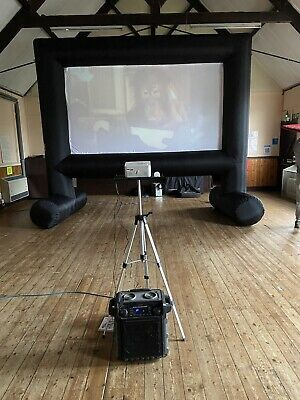 Inflatable Cinema Screen Used For Hire   • 230£