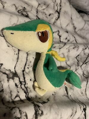 RARE Pokémon Snivy Beanie Baby Babies Plushie Plush Soft Toy - Great Condition • 3.99£