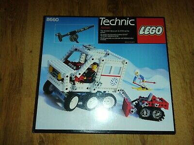 LEGO Vintage Technic 8660 Snow Mobile: Box Only • 10£