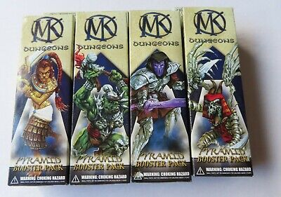 Mage Knight - Dungeons Pyramid -  4 X Booster Packs  • 39.99£