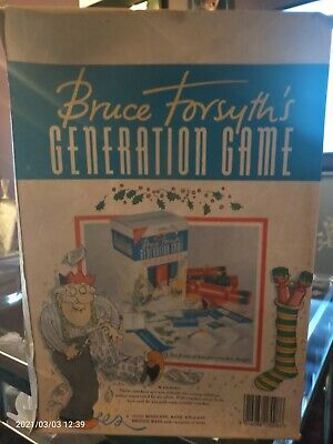 Bruce Forsyth's Generation Game Collectable Christmas Crackers • 2£