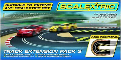 Scalextric C8512 Track Extension Pack 3 - Hairpin Curve 1:32 Scale Accessory NEW • 25.95£