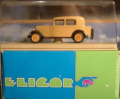 Eligor France. 1016 Peugeot 1931 Berline. Model Is Mint And In Its Acrylic Case  • 11.95£