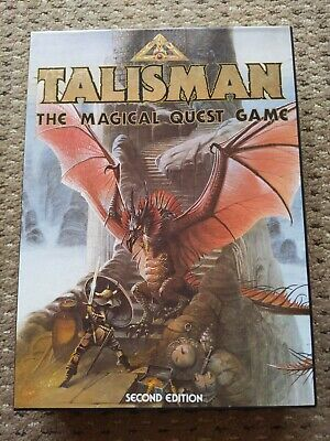 Talisman 2nd Edition Board Game & Expansion • 58£