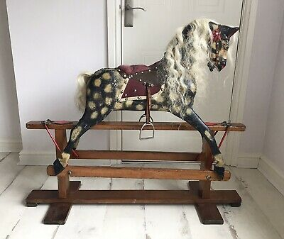 Original Vintage Collinsons Small Rocking Horse • 420£