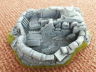 Imperial Guard Defence Bunkers (3 Pack Bundle) - WH40K WH30K Rogue Trader • 85£