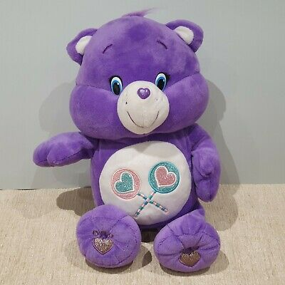 NEW Share Bear Care Bear With Sounds And Movement Soft Toy Plush • 59.99£