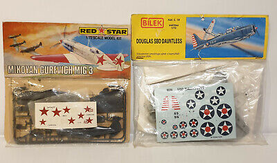 Aviation : Mikoyan Gurevich Mig 3 : Red Star Model Kit  • 15£