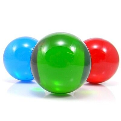 Coloured Acrylic Contact Juggling Ball - 75mm Contact Ball - Choice Of Colours • 16.99£
