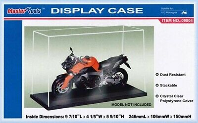 TRUMPETER Display Case & Base Stackable Clear Cover 1:43rd 1:72nd 1:350th 1:24 • 13.90£