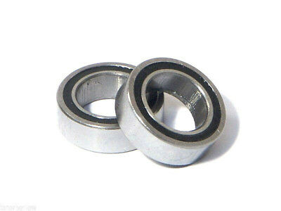 RUBBER SEAL BEARINGS 6 X 10 X 3 Mm (2pcs)  ,  B028 • 3.50£
