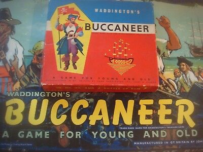 Buccaneer Spare Parts Playing Pieces - Vintage Waddingtons Covers Most Versions • 2.49£