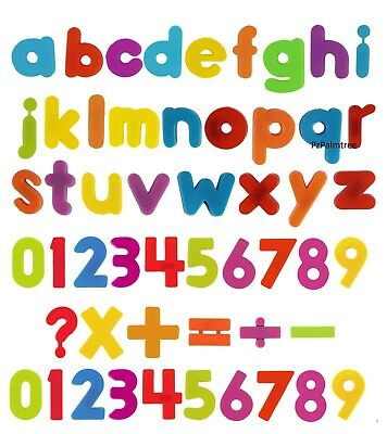 Kids Learning Teaching MAGNETIC Toy Letters & Numbers Fridge Magnets Alphabet • 4.49£