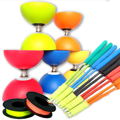 Cyclone Triple Bearing Diabolo With Choice Of Sticks & Extra String - Diablo • 29.44£