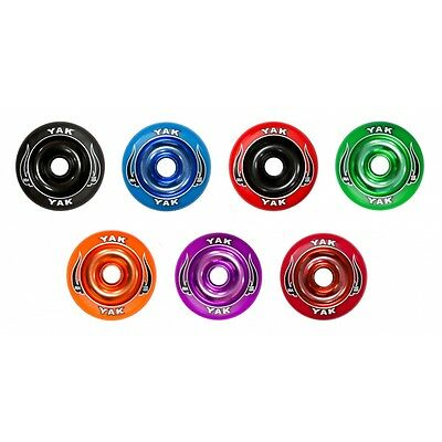 Yak Scat 100mm Aluminium Metal Core Scooter Wheel • 1.25£