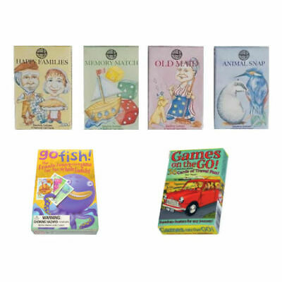 Assorted Children's Playing Card Games Kids Stocking Fillers (1 Supplied) • 3.95£
