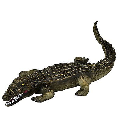 Large 23  (58 Cm) Crocodile Stuffed Rubber Realistic Details Play Toy Museum • 14.90£