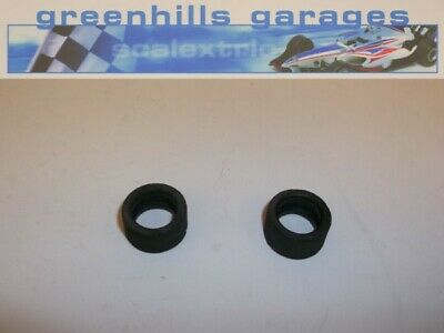 Greenhills Scalextric Audi Quattro A4 Rear Tyre Pair Used - P3160 • 3.99£