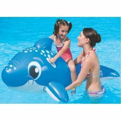 Large Inflatables Floats Ride On Dolphin Beach Swimming Pool Toy 3 Years+ 63  • 7.99£
