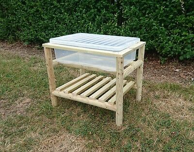 Wooden Sand/water Play Table With Shelf  • 74.99£