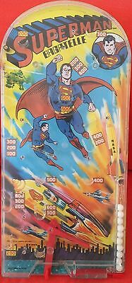 Vintage DC Comics Superman Ultra Rare 1976 Bagatelle Pin Ball Game The Man Of St • 35£