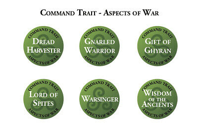 2nd Edition Sylvaneth Spells Traits & Artefact Tokens Warhammer Age Of Sigmar • 33.75£