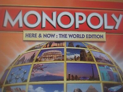 Monopoly Here & Now World Edition Spare Replacement Playing Pieces / Tokens • 2.49£