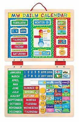 My Magnetic Daily Calendar With 82 Magnets - Melissa & Doug  • 16.45£