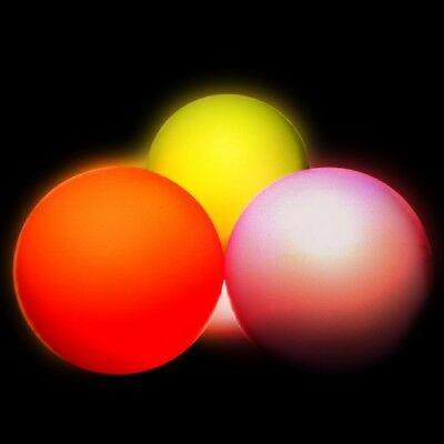 JD 95mm LED Contact Juggling Ball - Multi Function - Glow Contact Juggling • 23.95£